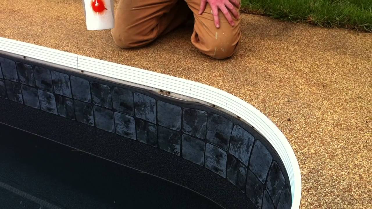 How To Put A Pool Liner Back In Its Track Liner Pull