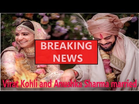 Virat Kohli and Anushka Sharma are married now|| World News Radio