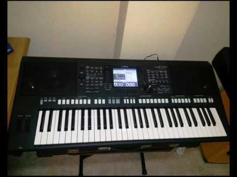 YAMAHA PSR S750: TUTTI 2 (Church Organ Expansion Pack)