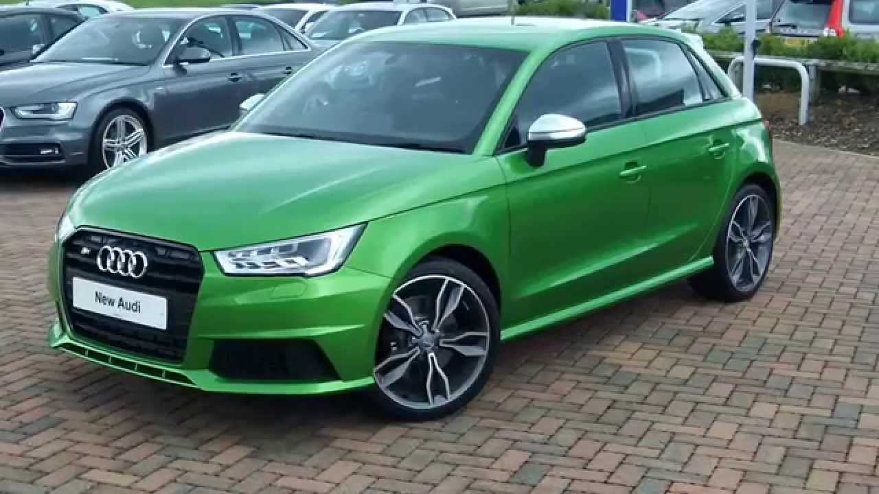 Audi S1 Sportback Exclusive Java Green Youtube