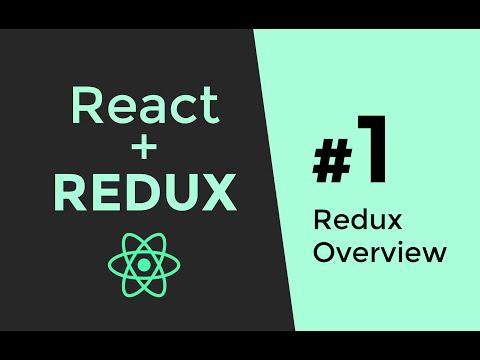 Redux Tutorial #1 - React js tutorial - How Redux Works