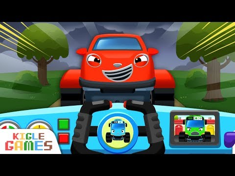 Let's Drive In Monster Town | Tayo Monster Truck EP10 | Tayo The Little Bus | KIGLE GAMES
