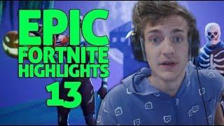 Ninja - Fortnite Battle Royale Highlights #13