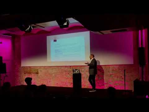 Shiv Malik from Streamr at the Berlin Conference