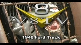 1940 Ford Rat Rod Truck Hides Road Racing Secrets - V8TV Video