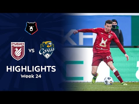 Rubin Kazan Sochi Goals And Highlights