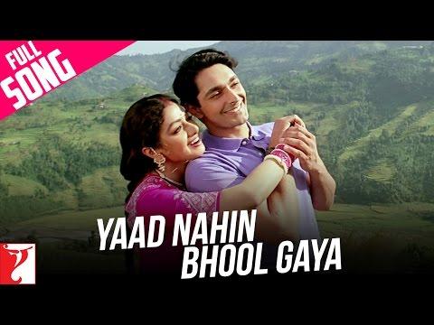 Yaad Nahin Bhool Gaya  Full Song  Lamhe  Sridevi  Lata Mangeshkar  Suresh Wadkar