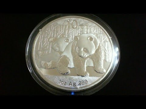 Fake silver bullion, the 2010 Chinese Panda.