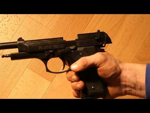 jamming beretta fix Bruni 9mm blank bullets stuck // HD turn on subs