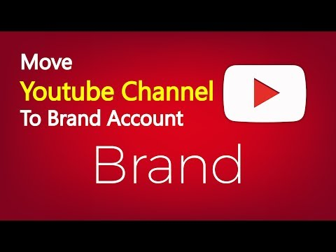 how to change channel to brand account