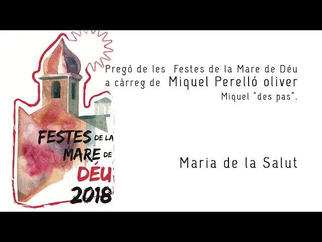 PREGÓ DE FESTES 2018