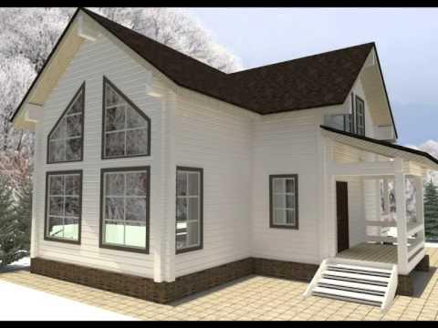 Проекты деревянных домов.Строительство бань,коттеджей из бруса.Смотреть онлайн.МОГУТА