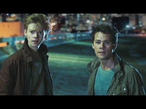 Dylan O'Brien Does INTENSE Stunt In Maze Runner Deleted Scene