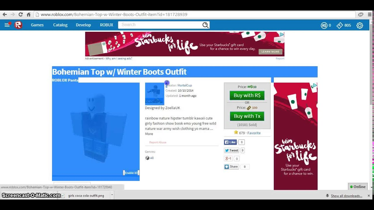 How to get free clothes on roblox december 2014 youtube how to get free clothes on roblox december 2014 ccuart Choice Image