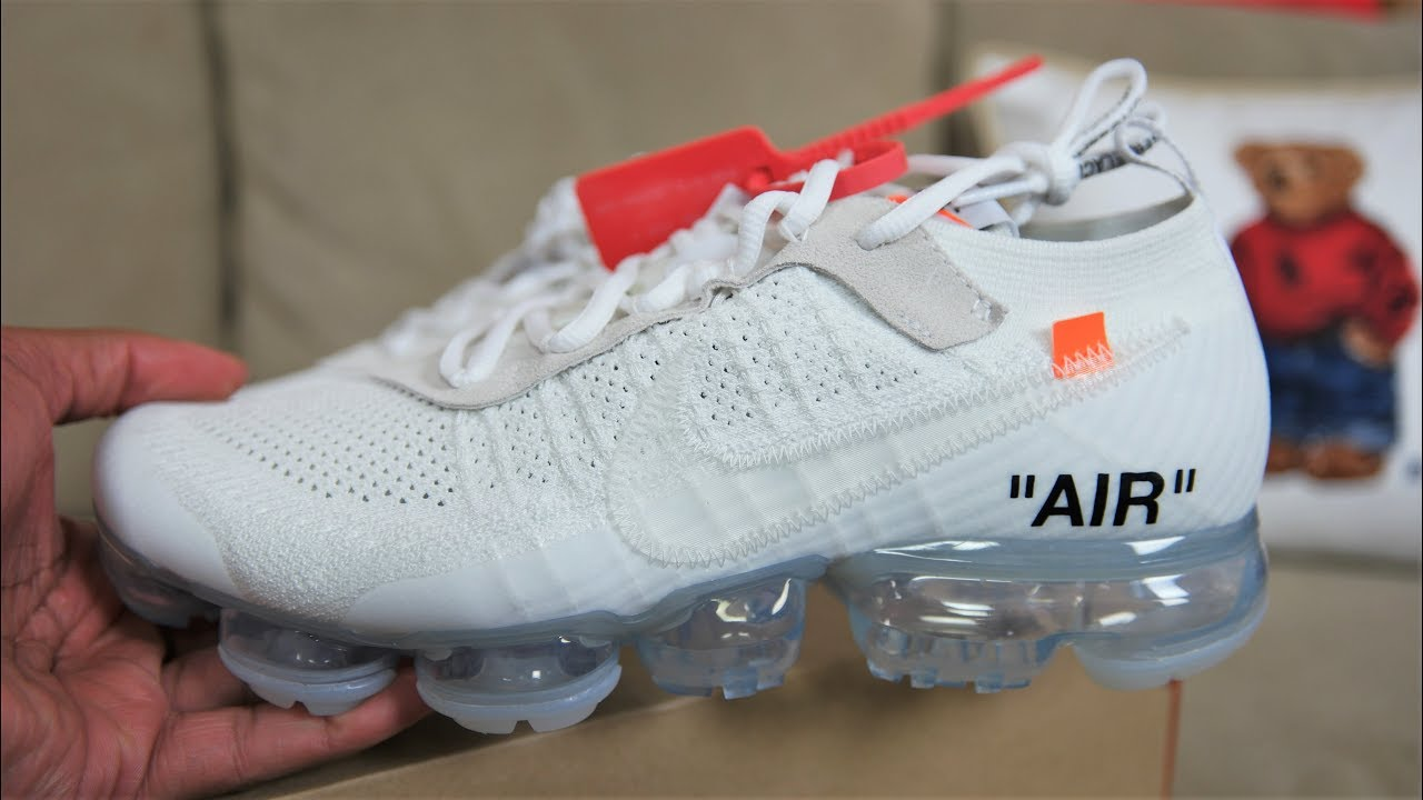 1ecd9f65e459 EARLY FIRST LOOK  NIKE VAPORMAX OFF WHITE - YouTube