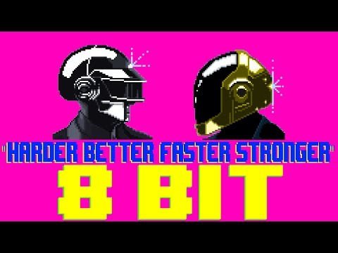 Harder Better Faster Stronger [8 Bit Cover Tribute to Daft Punk] - 8 Bit Universe