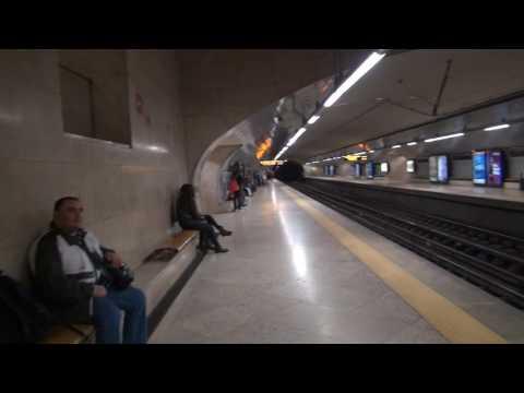 Lisbon City Alameda Metro Station