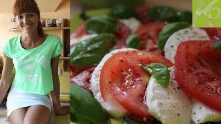 Sałatka Caprese - Dietetyczne Przepisy #6 [kuchniarenaty]