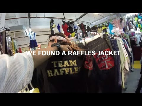 THRIFT SHOPPING IN SINGAPORE