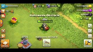 Clash of Clans 2017 Halloween Obstacle Removal - Baby Dragon Skull