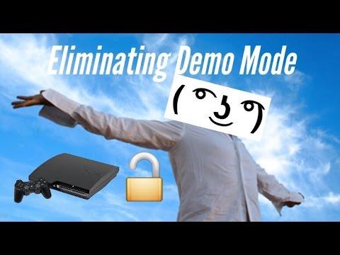Demo mode Unlock! PS3 version 4.76!! Major key alert!