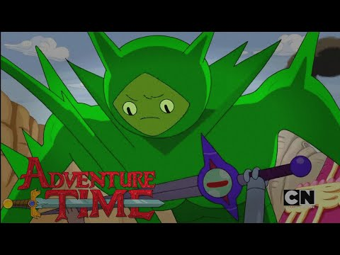 Adventure Time | Finn's New Sword | (Clip) Gumbaldia