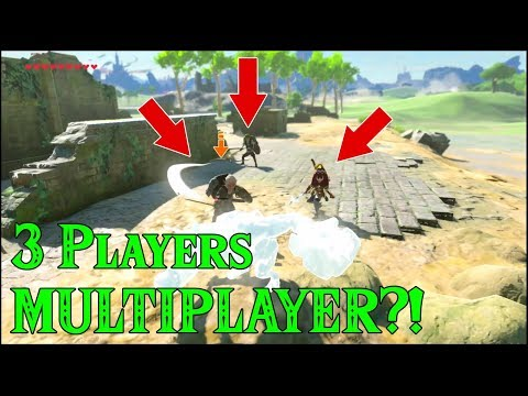 3 Players MULTIPLAYER?! It can work in Zelda Breath of the Wild
