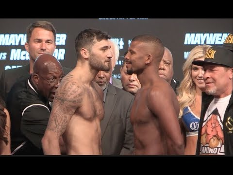 WAR CLEV! - NATHAN CLEVERLY v BADOU JACK - OFFICIAL WEIGH IN VIDEO - FROM LAS VEGAS