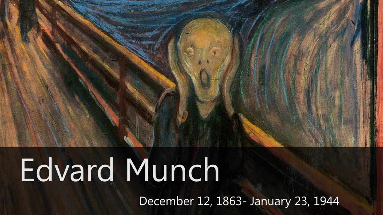the life and art career of edvard munch Subjective, dynamic, and religious: on the 'practically unknown' artist edvard munch and german expressionism, from 1950.