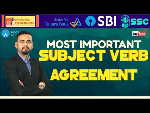 Most Important Rules Of English - Part 3 For SBI CLERK, SYNDICATE, SSC CHSL, CANARA BANK
