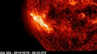 Solar X-ray Event: X1.1 Class Flare | October 19, 2014