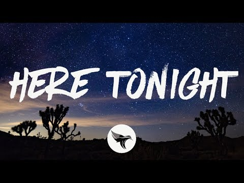 Brett Young - Here Tonight (Lyrics)