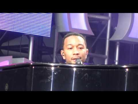 John Legend -- Ordinary People Live Chime For Change Twickenham Stadium London June 1st 2013