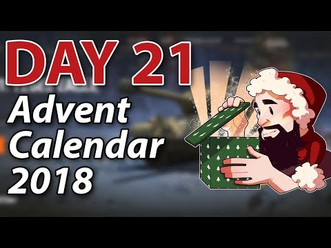 Day 21 Advent Calendar 2018! - World of Tanks thumbnail
