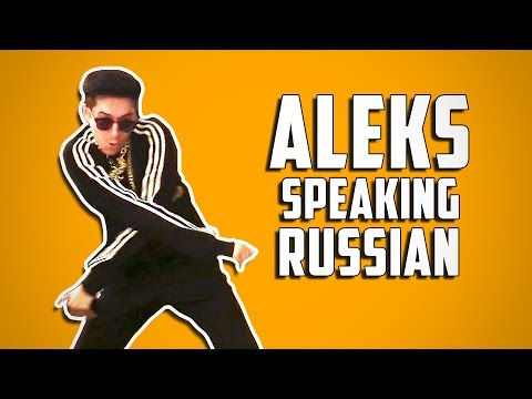ALEKS SPEAKING RUSSIAN • A Cow Chop Compilation