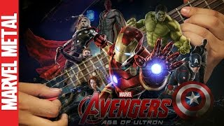 "Avengers: Age Of Ultron Main Theme Song ""New Avengers"" Music Soundtrack 