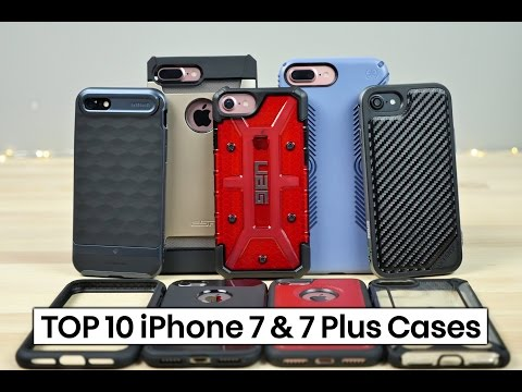 Thumbnail: Top 10 Best iPhone 7 & 7 Plus Cases!