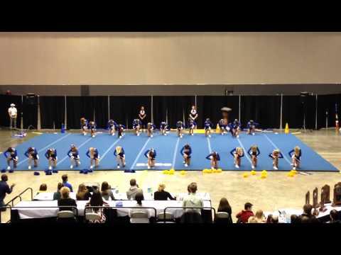 North Little Rock High School Varsity Cheer @ State 2014