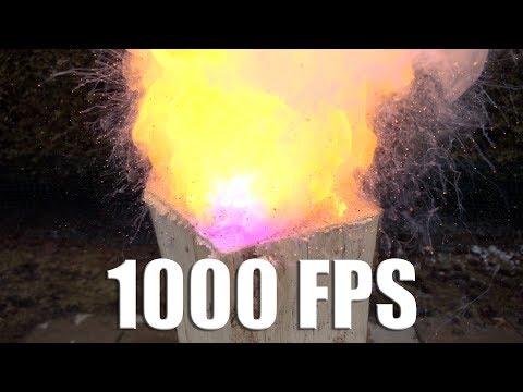 EXPERIMENT: SLOW MOTION 1000 FPS VS BLACK POWDER - SONY RX0 II