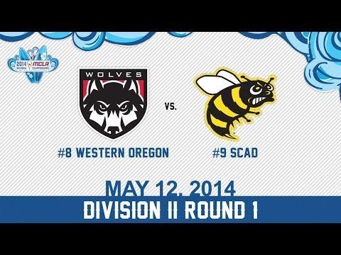 2014 MCLA National Championships: RD1: #9 SCAD vs #8 Western Oregon Wolves