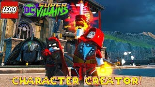 LEGO DC Super Villains Character Creator With All Characters Unlocked!