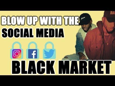 """""""Black Market"""" Marketing On Social Media"""