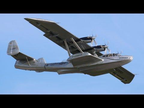 World's Only Flying Dornier Do-24 ATT - Takeoff, Flypast, Landing & Taxiing