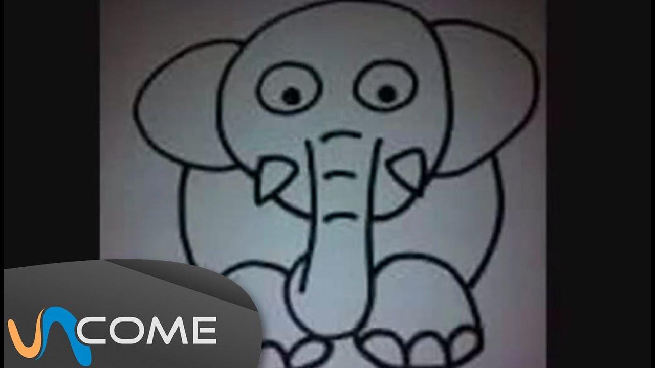 Disegnare un elefante come nei cartoni animati youtube - Come disegnare un cartone animato di gufo ...