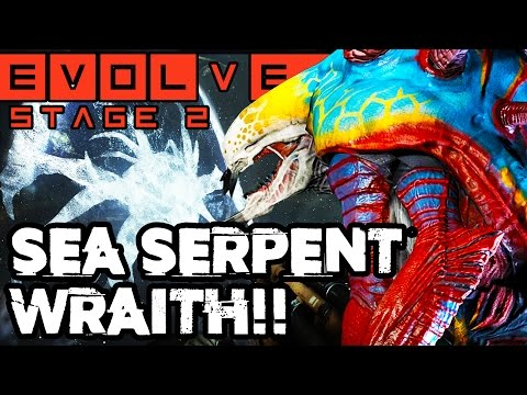 ANGRY WRAITH ATTACKS!! SWEET STAGE TWO MATCHES!! Evolve Gameplay Walkthrough (PC 1080p 60fps)
