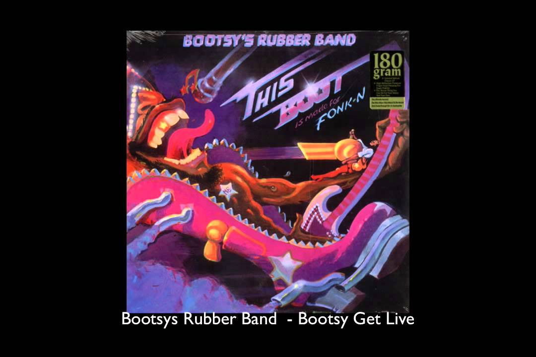 Download Bootsys Rubber Band  - Bootsy Get Live