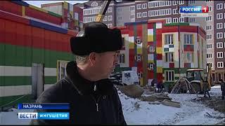 В микрорайоне «Юбилейный» завершается строительство детского учреждения на 220 мест