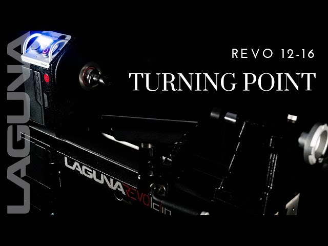 Introducing the Revo 12 16 lathe, the newest offering to the turning world | Laguna Tools