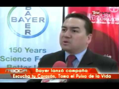 Bayer lanzó campaña escucha tu Corazon, Toma el Pulson de la vida