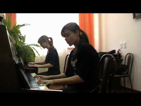 rammstein by alena ramkovskaya and angelina raper wo bist du piano cover 10 april 2010 youtube. Black Bedroom Furniture Sets. Home Design Ideas
